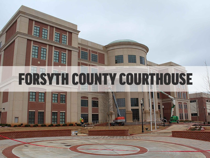 Forsyth county ga courthouse wedding