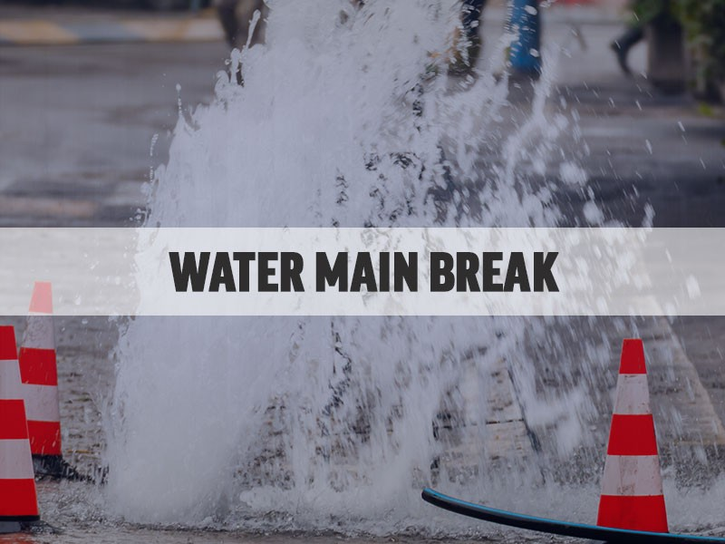 Image result for water main break