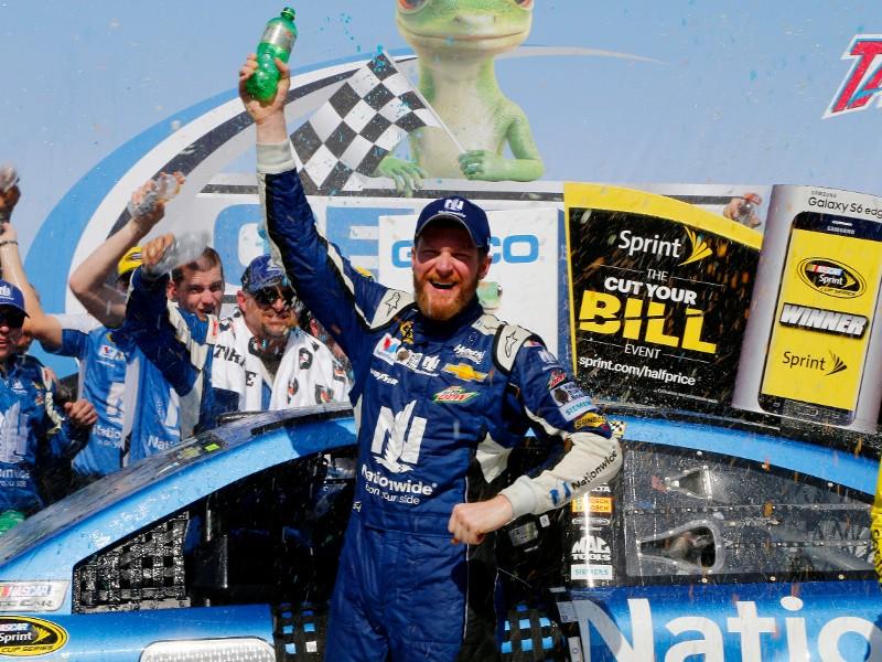 Dale Earnhardt, Jr. returns to Talladega victory lane | AccessWDUN.com