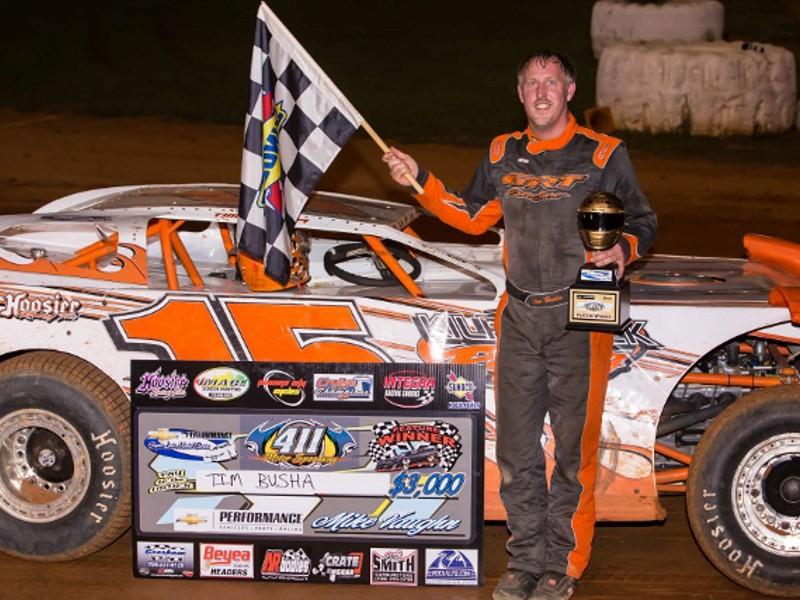 Busha scores Chevy Super Series win at 411 Speedway