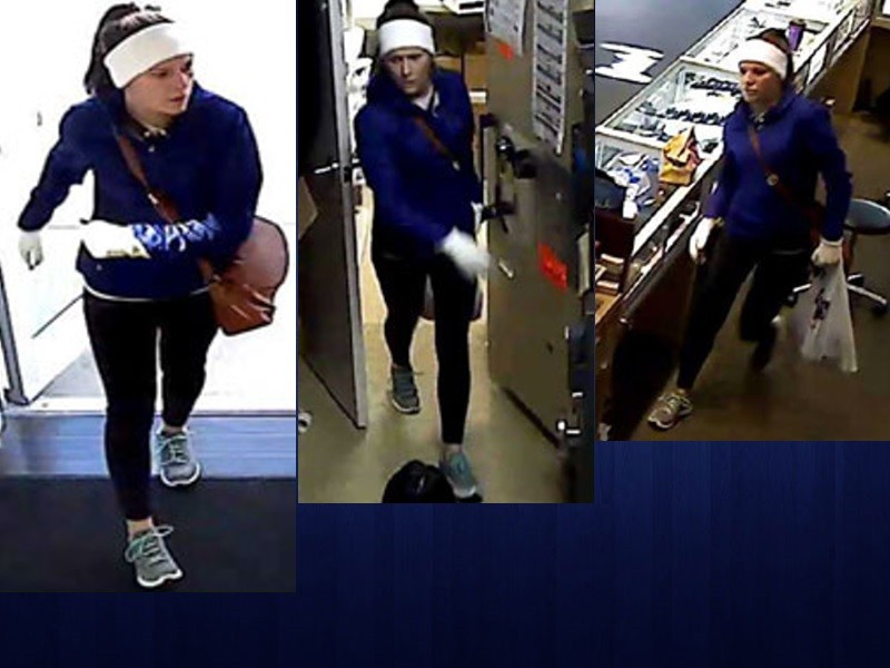 VIDEO Woman suspected in 2015 jewelry store robbery i