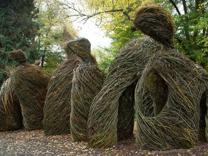 Woven whimsy exhibit opens at atlanta botanical gardens - Botanical gardens gainesville ga ...