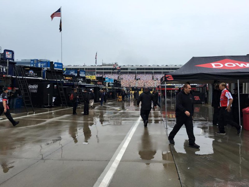 Rainout means full day of racing at charlotte saturday for Charlotte motor speedway campground
