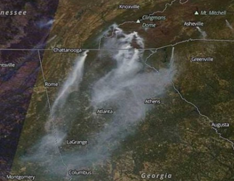 North Carolina Looks At Possible Arson In Wildfires