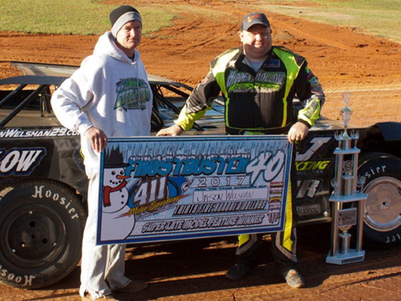 Welshan grabs Frostbuster win at 411 Motor Speedway