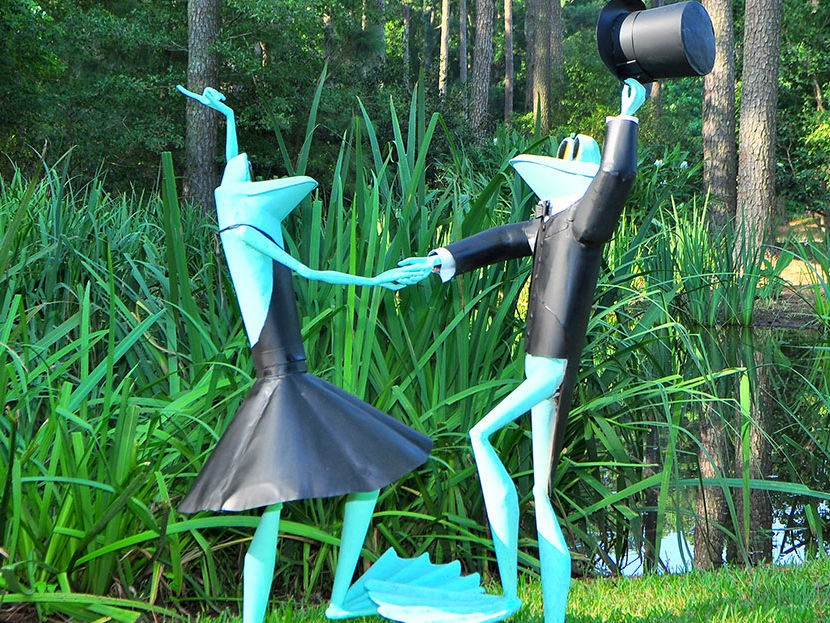 atlanta botanical gardens gainesville hosting frog exhibit - Gainesville Botanical Garden