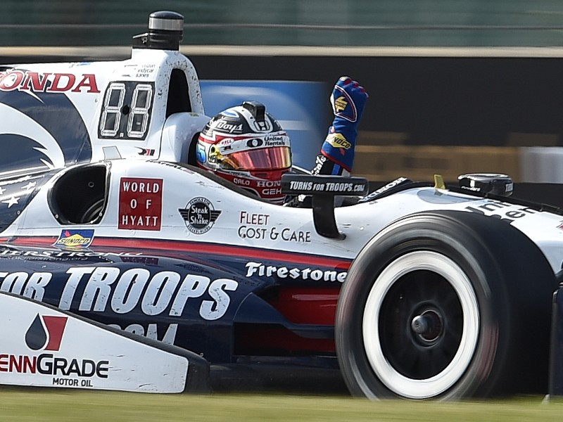Rahal Wins To Complete Sweep At Detroit S Belle Isle