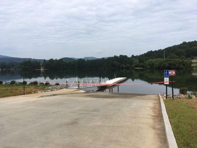 New Boat Ramp At Lake Chatuge Dedicated