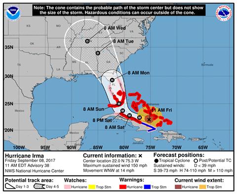 Hurricane Irma Georgia Insurance Commissioner Offers