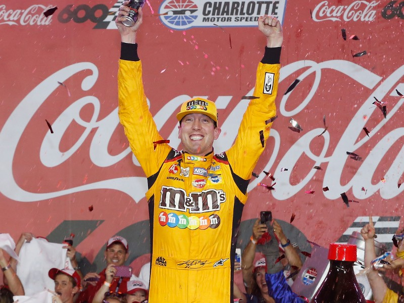 Kyle busch crushes the field scores coca cola 600 win for Charlotte motor speedway zip code